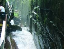 Flume Gorge.  © Klee