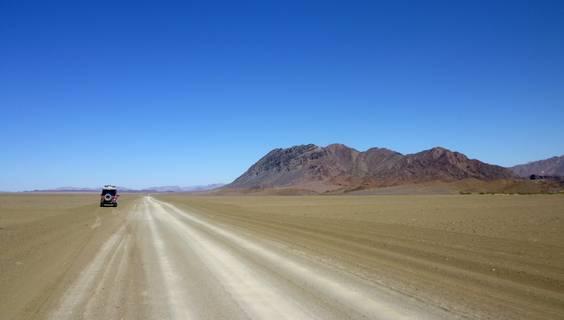 Auf der Fahrt von Ai Ais in Namibia Richtung Orange River entstand dieses Bild von Leser Sebastian Stahr.  © Sebastian Stahr